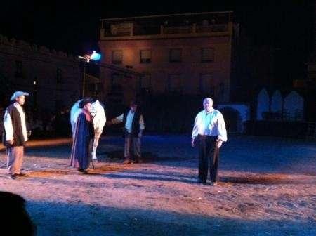 Unos 600 vecinos de Zalamea participan en la representación de 'El alcalde de Zalamea', que cumple 20 años