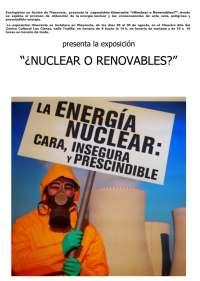Una exposición en contra de la energía nuclear llega a Plasencia (Cáceres)