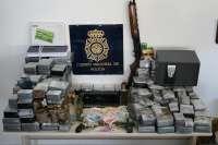Desarticulan una organización dedicada al tráfico de hachís y detienen a sus 5 integrantes en Mijas