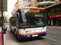 Latbus restablece este viernes el servicio de Buhobús coincidiendo con las fiestas de Murcia