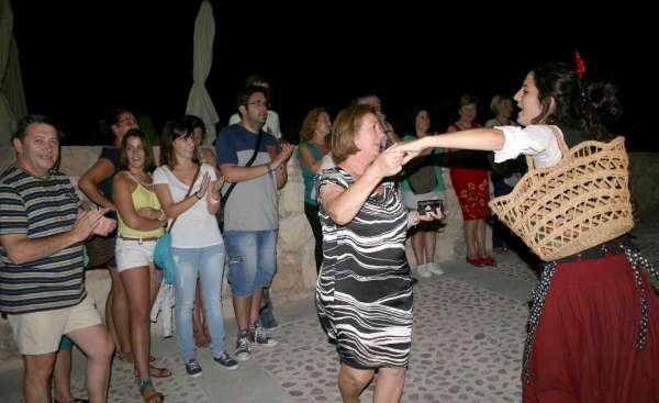 Más de 2.000 personas acuden en agosto a las visitas nocturnas del Castillo de Caravaca