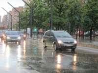 Protección Civil informa de la previsión de lluvias y tormentas mañana en Burgos, Palencia y Soria