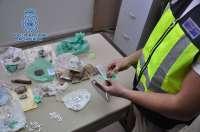 Intervenido un kilo de heroína y detenidas dos personas que regentaban un punto de venta en Pescadería
