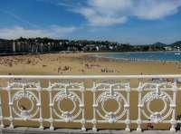 La playa de La Concha, entre las tres más bonitas para los españoles