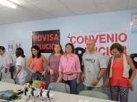 Trabajadores de Povisa retoman movilizaciones para denunciar coacciones y nula voluntad por negociar el convenio