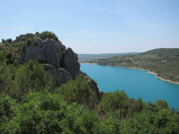 Los embalses de la Cuenca del Ebro están al 71,9 por ciento de su capacidad