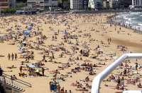 La playa de El Sardinero, entre las más bonitas de España, según el portal Muchoviaje.com
