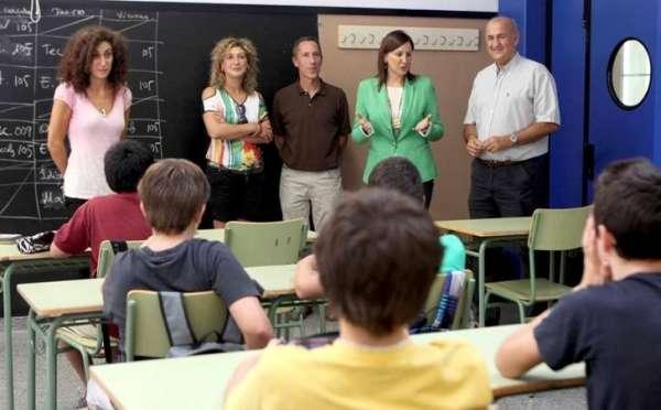 Educación destaca la ausencia de incidencias en el inicio de curso en Bachillerato, PCPI, FP y Secundaria