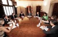 Fabra y los consellers abordan las principales líneas de cara al Debate de Política General
