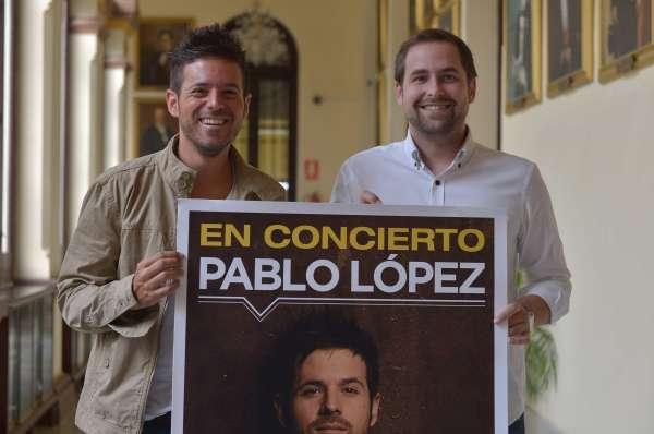 El cantante malagueño Pablo López presentará su primer álbum en la Caja Blanca