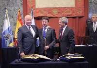 Melchior deja el Cabildo de Tenerife tras 14 años en la presidencia y destaca la
