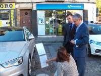 León acoge una exposición de coches con bajas emisiones de CO2 con motivo de la Semana Europea de la Movilidad