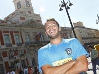 Turista en Madrid