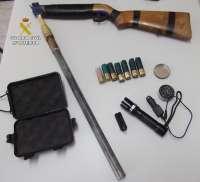 Imputadas dos personas por un delito de tenencia de armas prohibidas y caza furtiva en Zamora
