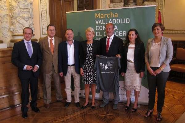 La AECC espera superar los 6.100 participantes de 2012 en la II Marcha Valladolid contra el Cáncer, el 20 de octubre