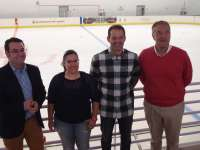 La pista de hielo de Lobete celebra este fin de semana dos jornadas de puertas abiertas como inicio de la temporada