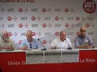 Uniones de Jubilados de UGT y CCOO protestarán el martes en El Espolón por