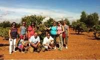 Representantes europeos de Turespaña visitan la Ruta del Vino Ribera del Guadiana para conocer su enoturismo