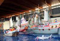 El Pabellón de la Navegación acoge desde este viernes la exposición 'Surca la historia con los clicks'