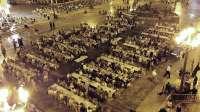 Más de 600 personas participan en la primera 'Cena del Hambre' que organiza Manos Unidas