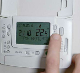 ahorrar energia Regular la calefacción
