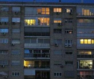 Luces de un edificio