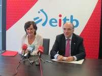 EiTB y Euskaltzaindia trabajarán juntos en la difusión y afianzamiento del modelo de euskera estándar de calidad