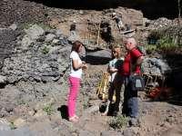 El Cabildo de La Palma finaliza los trabajos de preservación del yacimiento prehispánico de Belmaco