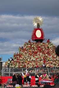 Los ciudadanos ya pueden solicitar cita previa acceder al manto floral de la Virgen del Pilar