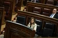 Báñez insiste en que los pensionistas mantendrán su poder adquisitivo gracias a la desindexación de precios