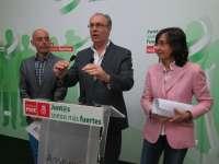 Durán (PSOE) critica sumisión de Nieto (PP) cuando Córdoba es la última provincia andaluza en inversiones
