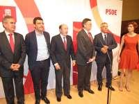 Rubalcaba afirma la voluntad del PSOE en defensa del Corredor Mediterráneo,