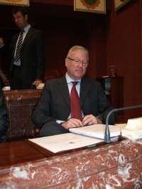 Valcárcel comparece este miércoles en la Asamblea Regional para responder a las preguntas de portavoces parlamentarios
