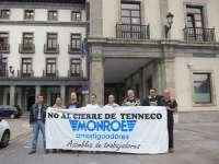 Más de una docena de trabajadores de Tenneco parten este domingo hacia Estrasburgo