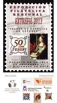 Filatélicos de toda España participarán en la exposición 'Extrefil' que se celebrará en Cáceres