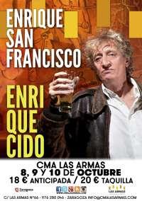 El actor y cómico Enrique San Francisco, en el CMA Las Armas