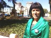 La parlamentaria del Partido Socialista navarro Maite Esporrín recibe en Badajoz el reconocimiento de la Guardia Civil