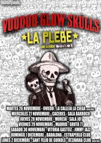 El ska-punk americano de Voodoo Glow Skulls llegará el 27 de noviembre a Cáceres