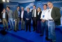 Rajoy, Cospedal, Zoido y los vicesecretarios del PP almuerzan en Córdoba cuando está pendiente elegir candidato del PP-A