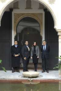 Qatar se interesa por las rehabilitaciones urbanas de Granada y las rutas del Legado Andalusí