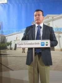 El PP de Extremadura, satisfecho con que el laudo en Siderúrgica Balboa haya conseguido