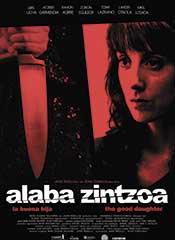 Alaba Zintzoa (La buena hija) - Cartel