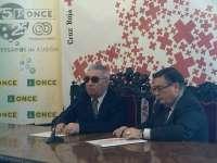 Cruz Roja y la ONCE firman un convenio de colaboración por el que se beneficiarán más de 2.100 usuarios