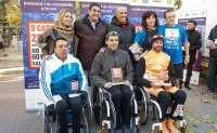 Echániz agradece a 17.000 corredores que recauden fondos para impulsar el deporte para personas discapacitadas en Toledo