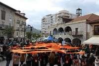 Cientos de personas 'abrazan' a la Puebla Vieja en el aniversario de su declaración como Conjunto Histórico