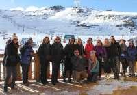 Promotores de congresos británicos y agentes rusos de viajes conocen la oferta de Sierra Nevada