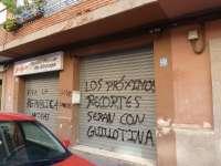 El PSPV condena el ataque a la sede del PP en Alboraya (Valencia) y pide respeto