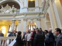Más de 1.200 personas visita el Parlamento asturiano en tres días de jornadas de puertas abiertas