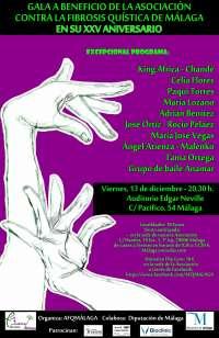 La Asociación contra la Fibrosis Quística celebra este viernes una gala benéfica por su 25 aniversario
