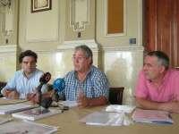 El delegado sindical de UGT en el puerto de Málaga suspende la huelga de hambre al empeorar su estado de salud